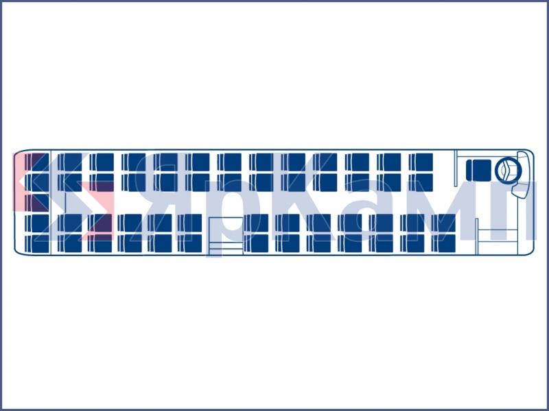 Автобус 47 мест категория тс м3 схема мест