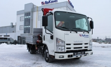 ISUZU ELF 3.5 LONG с КМУ Amco Veba 103 3S