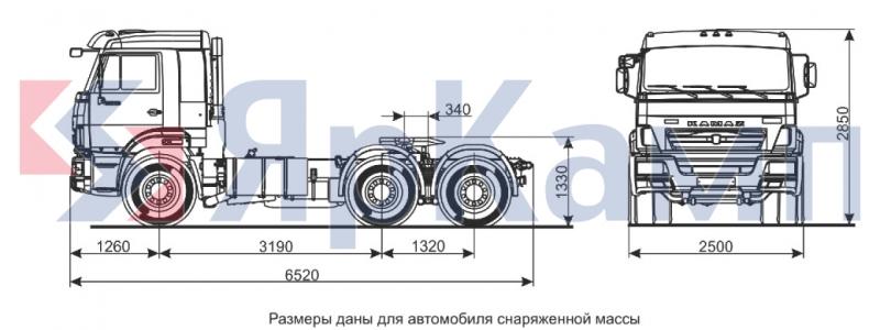 Инструкция Камаз Седельный Тягач 54115